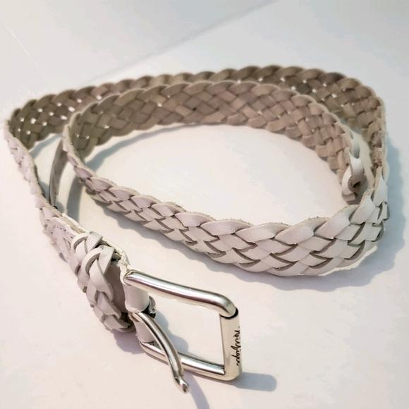 Tommy Hilfiger White Belt Size Medium